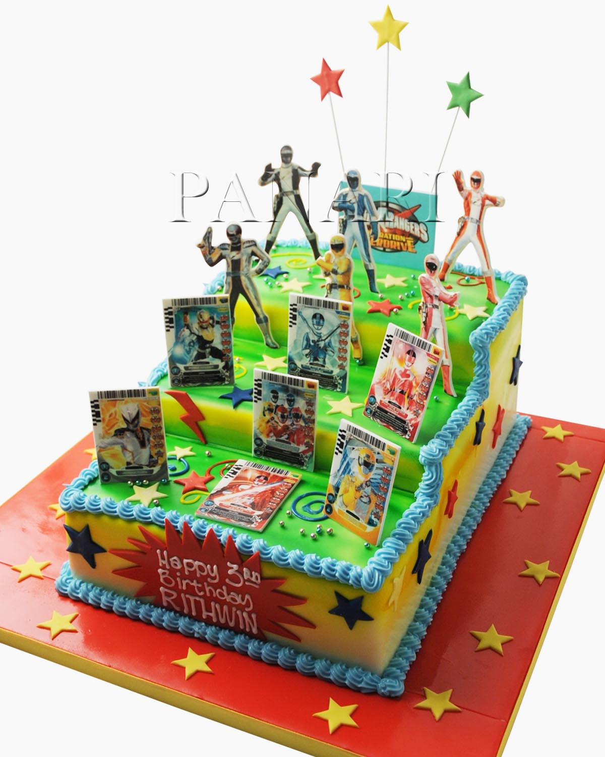 Power Rangers Cake SP2638