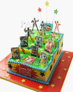 Power Rangers Cake SP2638
