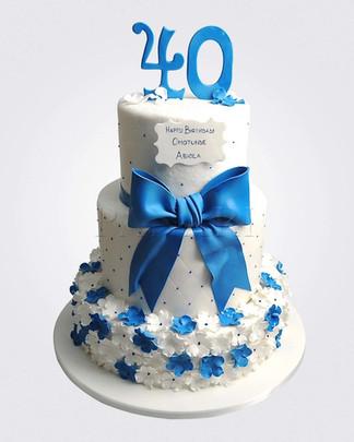 40th Cake CM3203.