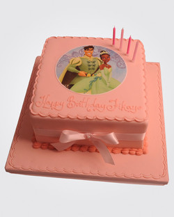Princess Tiana Cake PR7502