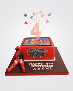 Power Rangers Cake SP7400