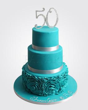50th Birthday Cake CL5358