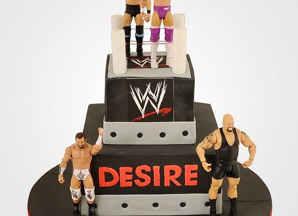 Wrestling Cake CB6397