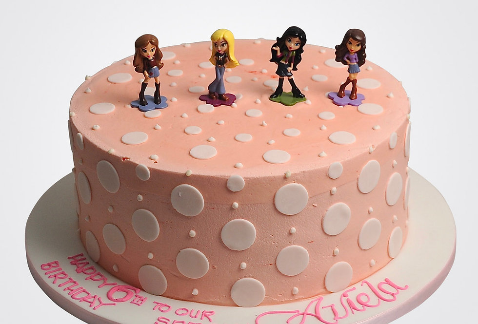 Bratz Cake TZ3621
