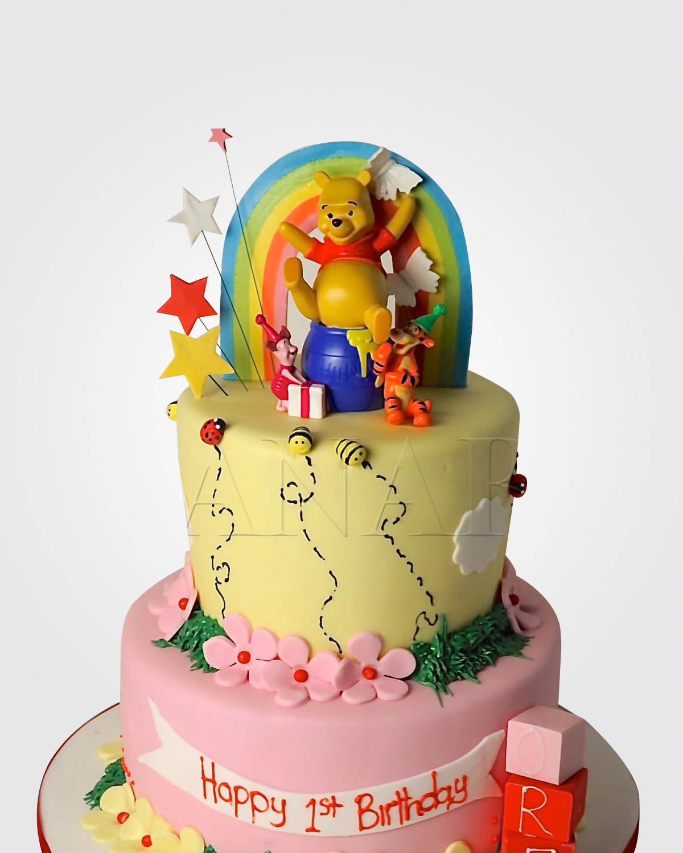 Winnie The Pooh Cake WM6803