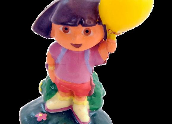 Dora Cake Candle