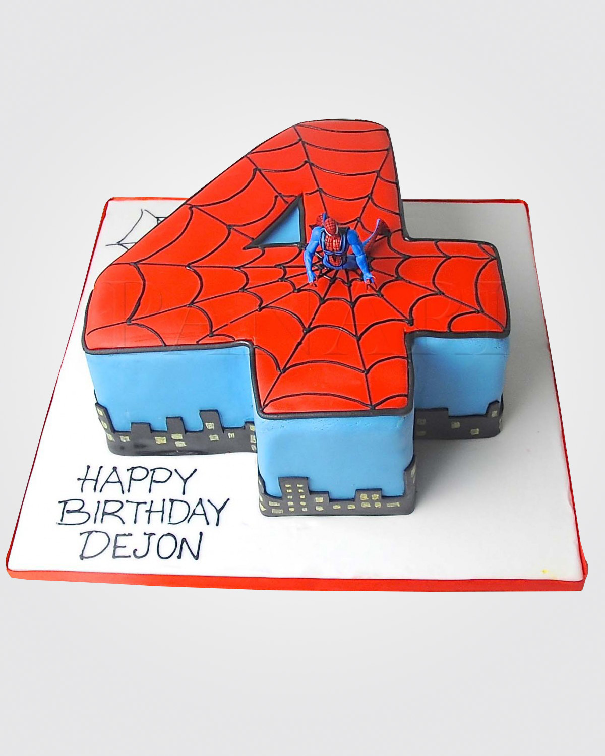 Spiderman Cake SP3913