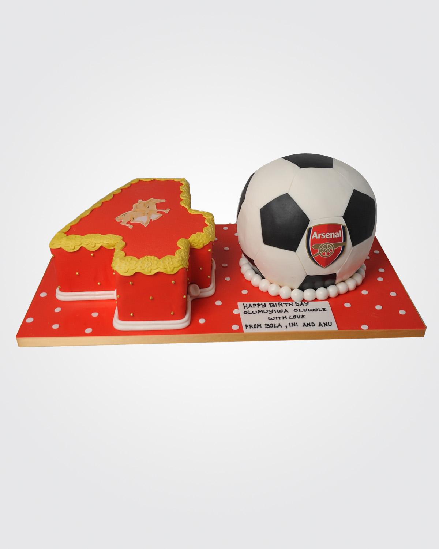 Football Cake 9515