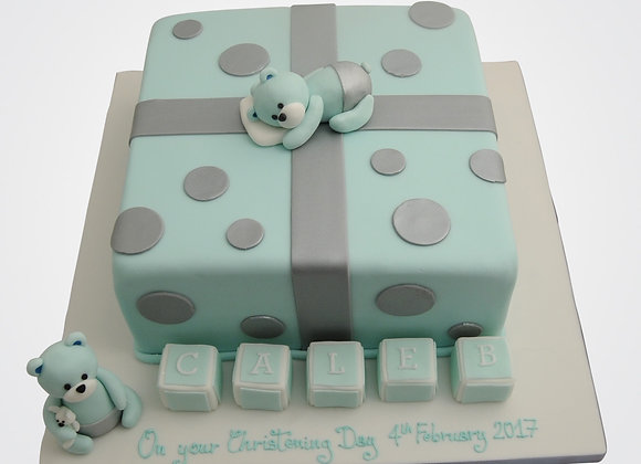Teddies & Cubes Cake CHB0686