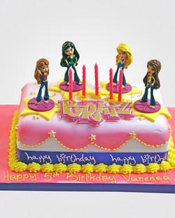 Bratz Cake TZ0315
