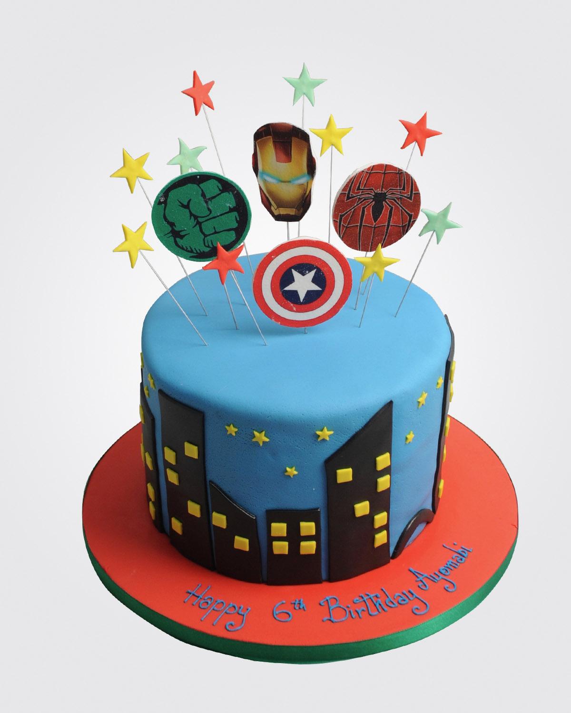 Avengers Cake SP7234