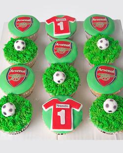 Football Cupcakes CP1157