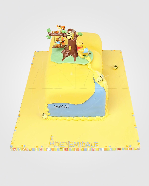 Winnie The Pooh Cake WM0038