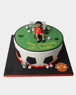 Footballer Cake SPH3556