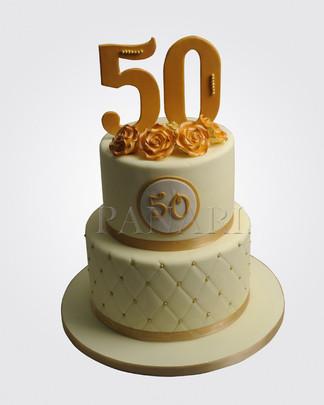 50th Birthday Cake CL7550