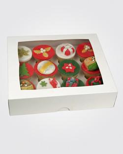 12 Christmas Cupcakes CS0102