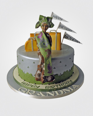 Nigerian Lady Cake CL6968