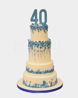 40th Birthday Cake CM3720.jpg