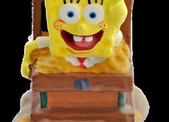 SpongeBob Cake Candle