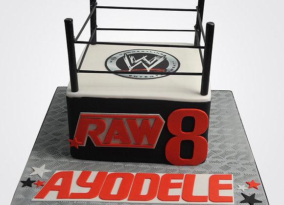 Wrestling Cake CB7994