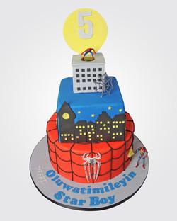Spiderman Cake SP0334