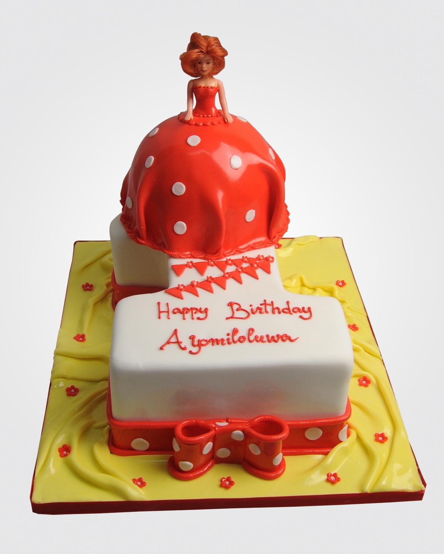 Doll Number Cake PR2276
