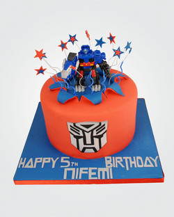 Transformers Cake SP6327