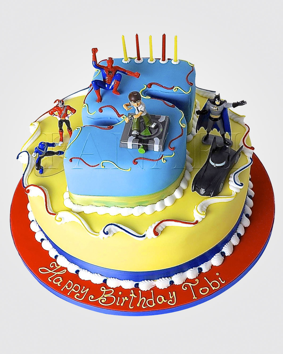 Superheroes Cakes SP0764