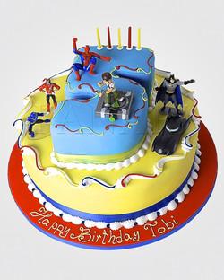Superheroes Cakes SP0764