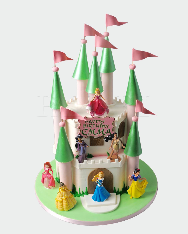 Castle Cake C7834
