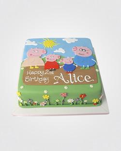 Peppa Pig Cake PE7978.