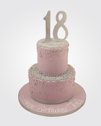 18th Bithday Cake CL3972