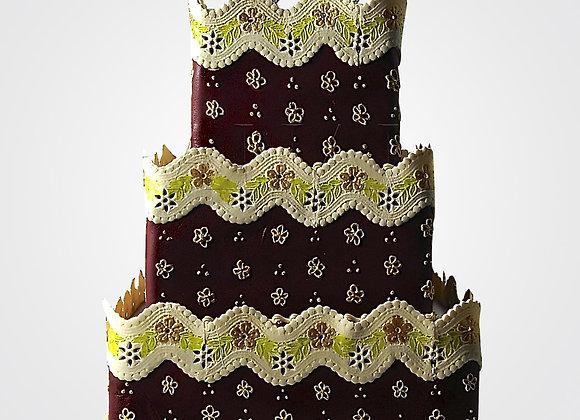 50th Birthday Cake CL6649