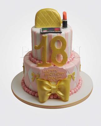 18th Birthday Cake CG0735