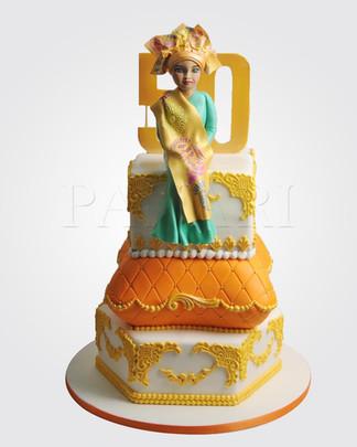 Nigerian Lady Cake CL1390