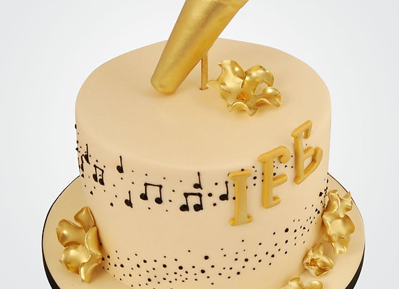 Microphone Cake  CG5549