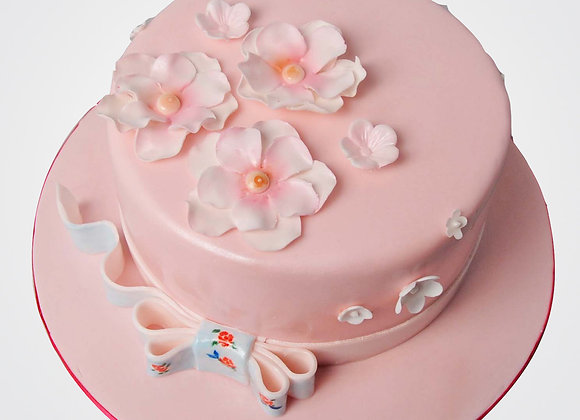 Pinky Floral Cake  CL1507
