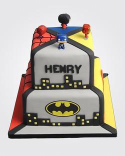 Superhero Cake SP4679