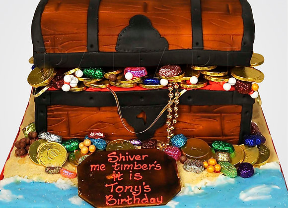 Treasure chest Cake  CB2020