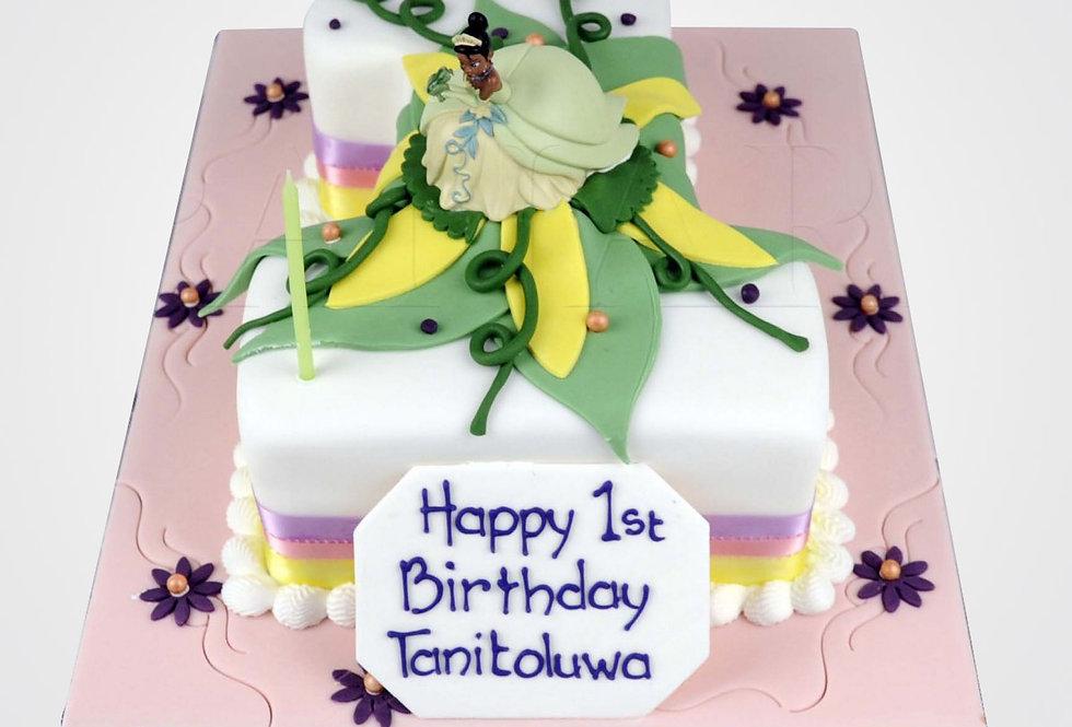 Princess Tiana Cake AN0019