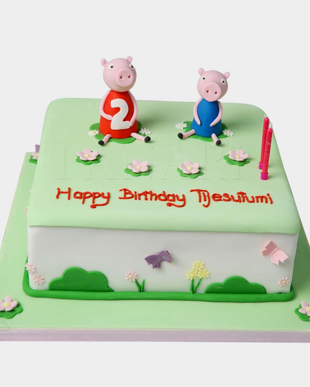 Peppa Pig Cake PE9599