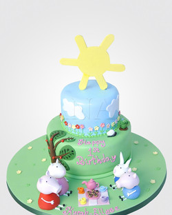 Peppa Pig Cake PE1574