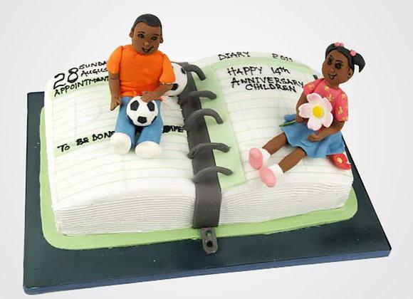 Children's Book Cake CG0809