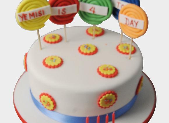 Lollipop Cake  CG5353