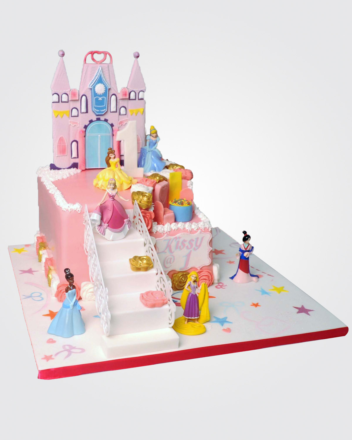 PRINCESS CASTLE CAKE C8025 copy