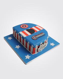 Captain America Cake SP7177