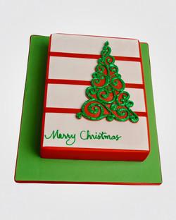 Christmas Tree Card Cake CS9269