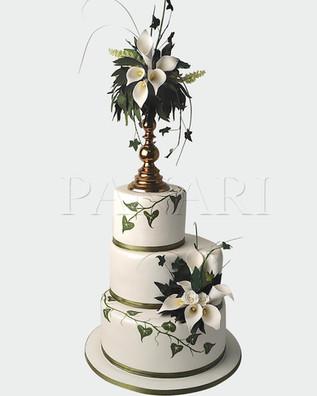 Calla Lilly Wedding Cake WC2177.jpg
