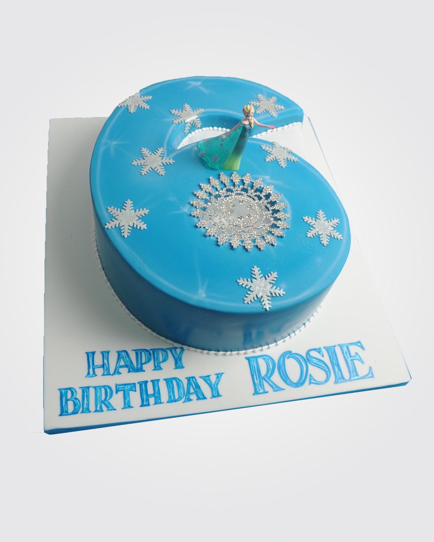 Frozen Number Cake PR1909