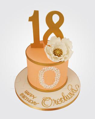 18th Birthday Cake CL6500